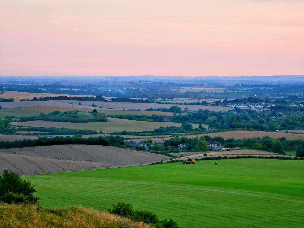Dunstable Downs green fields